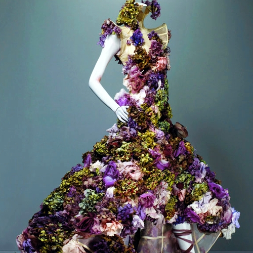 Alexander mcqueen.flower dress