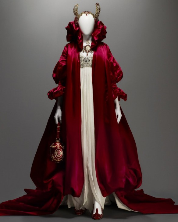 Alexander mcqueen.red coat