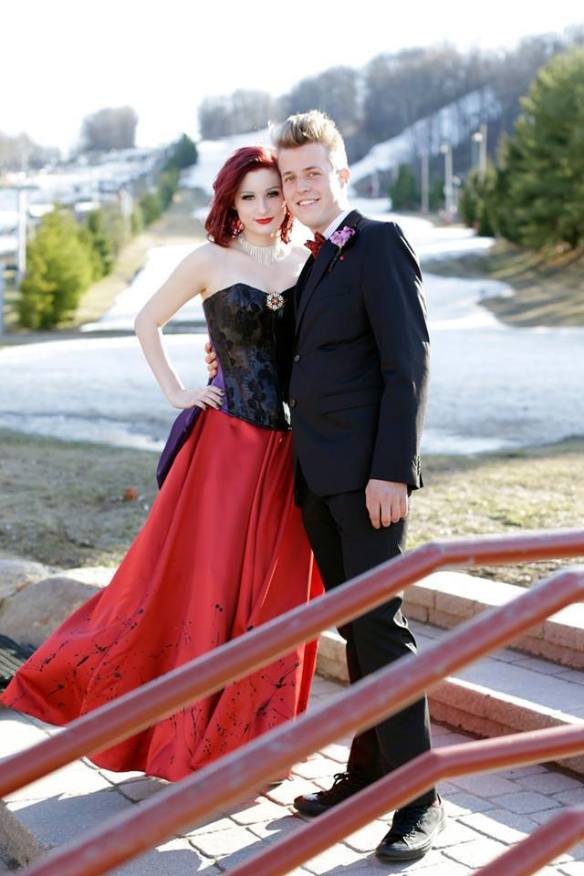 Justin Orlick Prom Dress 2015
